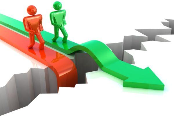 Business Success. Competition  concept
